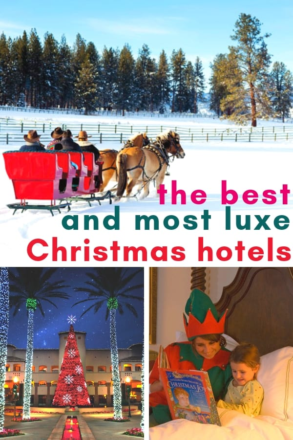 Skip the holiday entertaining and cooking! Or take a break when its over. The 17 Best Hotels for a Christmas Vacation