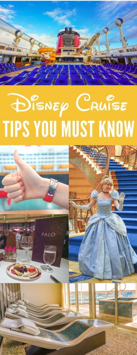 The Best Disney Cruise Tips You Must Know Before Sailing: Fish Extenders, Spa, Reservations, Port Transfers, and more