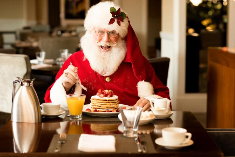 Breakfast With Santa at the Four Seasons Dallas During the Festive Seasons